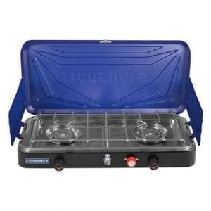 Stansport Outfitter Series 2-Burner Propane Stove