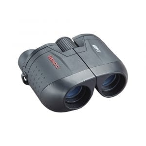 Tasco, Essentials Binoculars 10x25mm Porro Prism, Black, Boxed