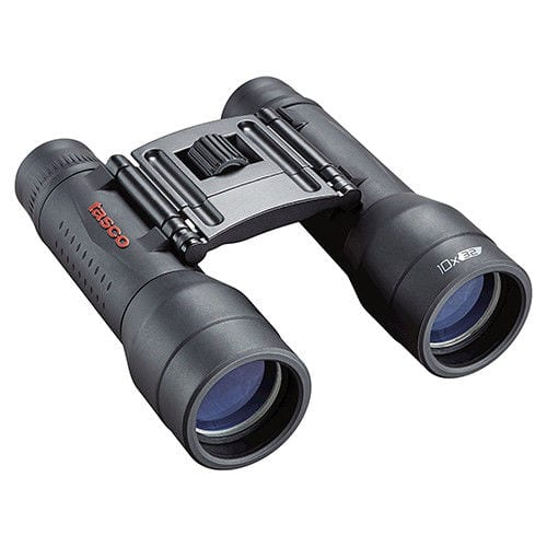 Tasco Essentials, Binoculars 10x32mm, Roof Prism, MC, Black, Boxed
