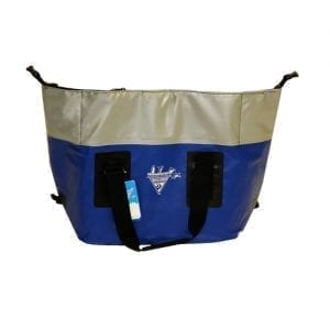 Seattle Sports, Frost Pak, 44 Quart, Zip Top Cooler, Blue