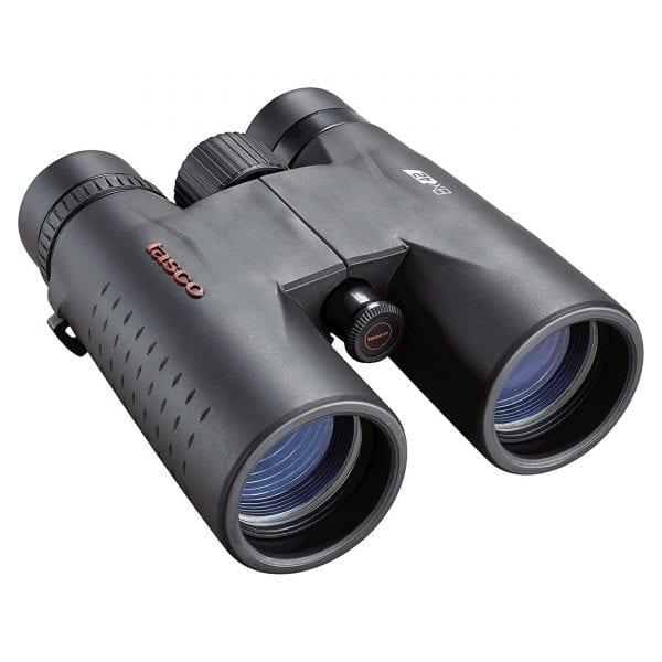 Tasco Essentials Binoculars 8x42mm, Roof Prism, MC, Black, Boxed