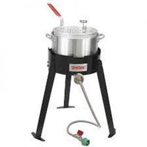 Aluminum Deep Fryer/Fish Cooker