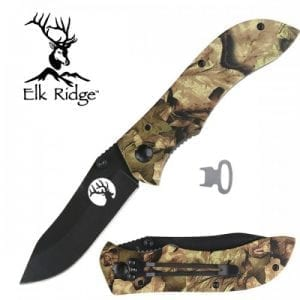 Elk Ridge Camo Liner Lock Knife