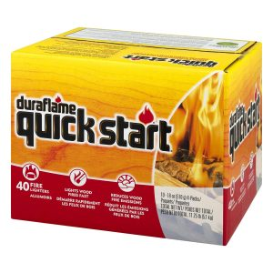 duraflame Quick Start Firelighters, 10 - 4 packs