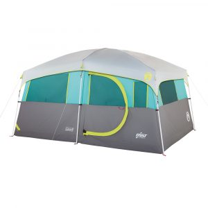 COLEMAN TENAYA LAKE™ LIGHTED FAST PITCH™ 8-PERSON CABIN W/CLOSET