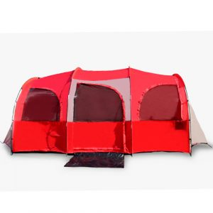 10-Person Red or Blue Camping Tent by Barton Outdoors