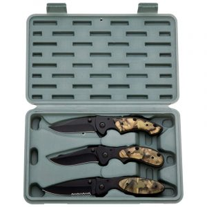 Maxam® 3pc Liner Lock Knife Set