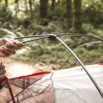 e've all been there: It's getting dark, it's cold, a wind's coming up, and you've got to sleep outside tonight. Pretty much the worst time ever to forget the tent instructions. Before you hike into the woods, you better know how to set that tent up by heart to avoid awkward and time-consuming efforts at your camp site.