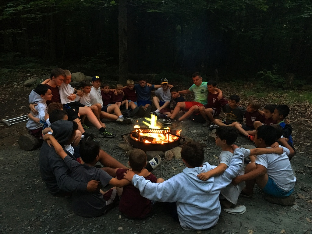 An Exciting Outdoor Summer Camp With Friends