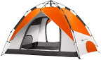 MOON LENCE Pop Up Tent Family Camping Tent 4 Person