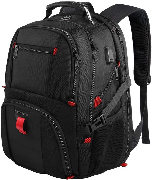 Backpack ,Extra Large 50L Travel Backpack with USB port