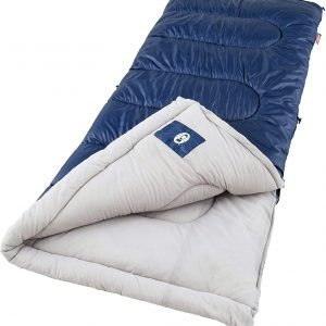 Coleman Brazos Cold Weather 20°F Sleeping Bag camping gear